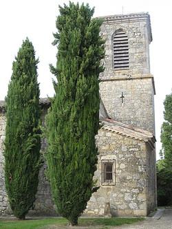 Eglise à Lagarde