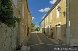 Gaudonville-rue centrale du village