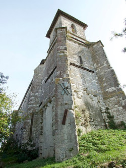 Eglise Sainte-Madeleine à Castéra-Lectourois