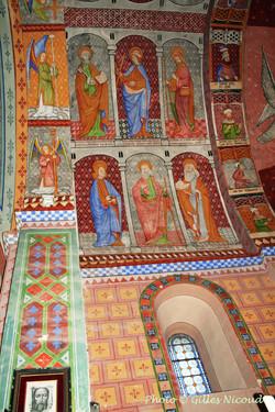 fresques mur Nord-église St-Créac-pic Gi