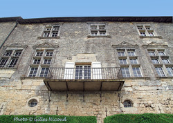 Marsac-château façade nord-est-perron-3.