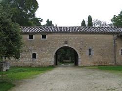 Château de Lauret à Sainte-Gemme