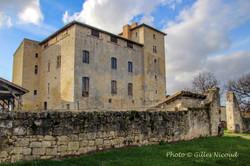 Avezan-château-façade est