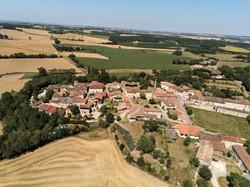 Castelnau d'Arbieu-vue du ciel
