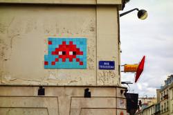 invader rue trousseau paris 11