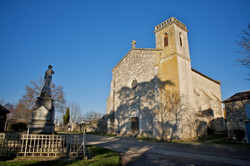 Isle-Bouzon-l'église