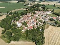 Castelnau d'Arbieu-vue du ciel-2