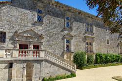 Gramont-château façade renaissance+escal