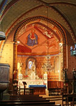 coeur de  l'église de St-Créac-pic Gilles Nicoud