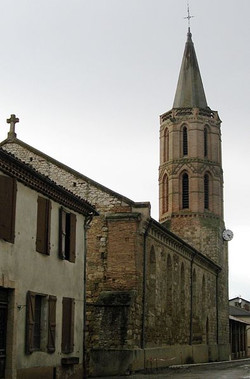 Eglise à Puycasquier
