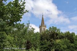 Mauroux-clocher église