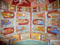 fresques murales-église St-Créac-pic Gil