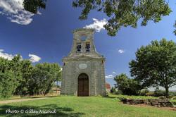 Mauroux-chapelle Saint-Martin-clocher