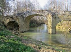 le pont d'Aurenque à Castelnau d'Arbieu-