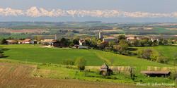 Gaudonville et les Pyrénées
