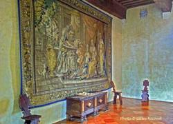 Gramont-château tapisserie grande salle-