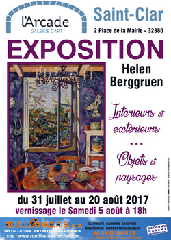 Galerie_d'Art_l'Arcade_Saint-Clar_affich