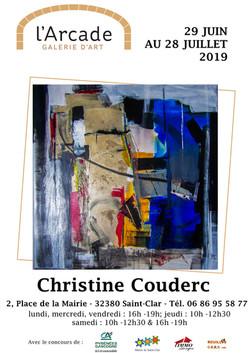 Affiche A4-Christine Couderc-avec horair