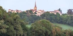 Castelnau d'Arbieu-le village