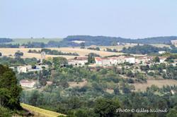Tournecoupe-vue panoramique depuis StLéo