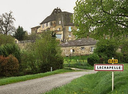Lachapelle-entrée village
