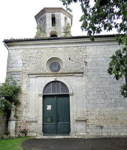 Eglise de Tournecoupe-portail d'entrée