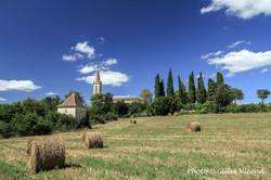 Mauroux-village+église