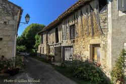 Gaudonville-maison à colombages