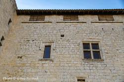 Avezan-château-détail fenêtre Renaissanc