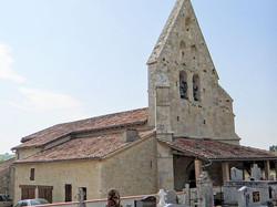 Eglise Saint-Quiriace à Saint-Cirice
