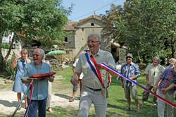 Yves Martin avec Patrice Bellet pour ses 70 ans-7sep2014