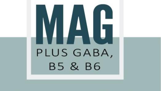 Mag Plus GABA, B5 & B6
