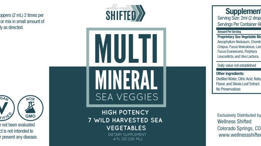 Multi Mineral Sea Veggies