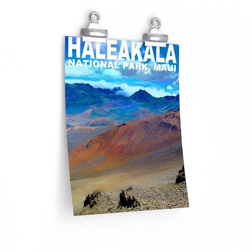 Haleakala Park Hawaii Matte vertical poster print