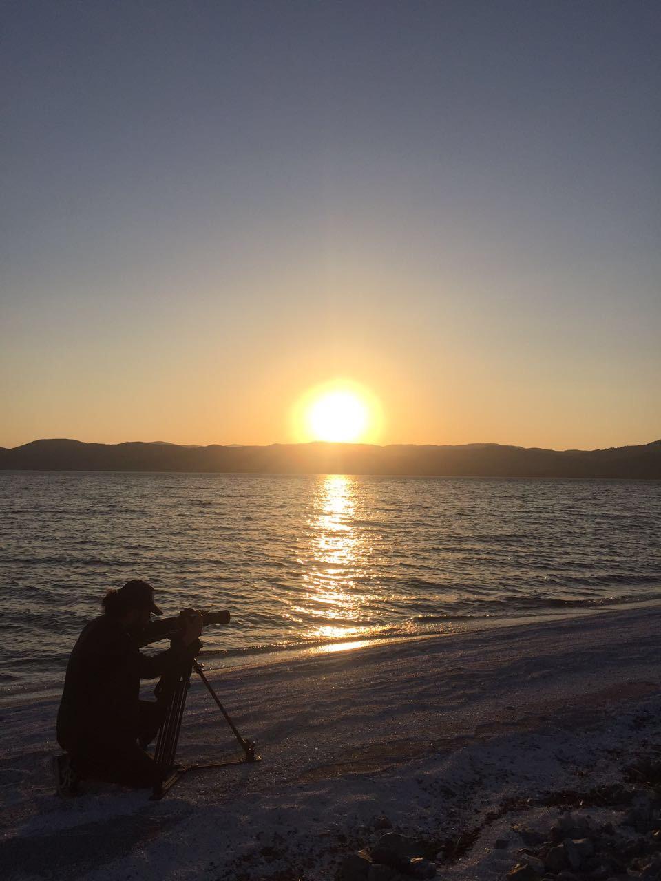 Salda'da gün batışı