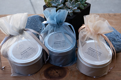 Massage Soy Candles (4 scents)