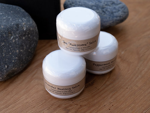 Herbal Salves *with essential oils