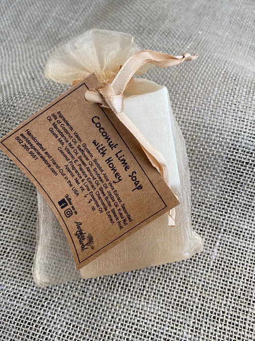 Coconut Lime with Honey Soap