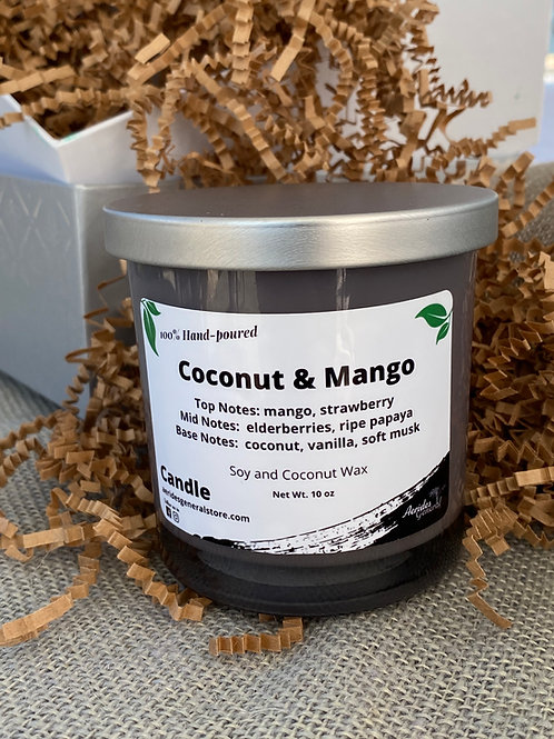 Soy & Coconut Wax Candle