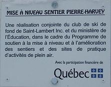 Ski de fond; St-Lambert-de-Lauzon; Sentiers Pierre Harvey