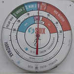 Thermomètre Farter ski de fond