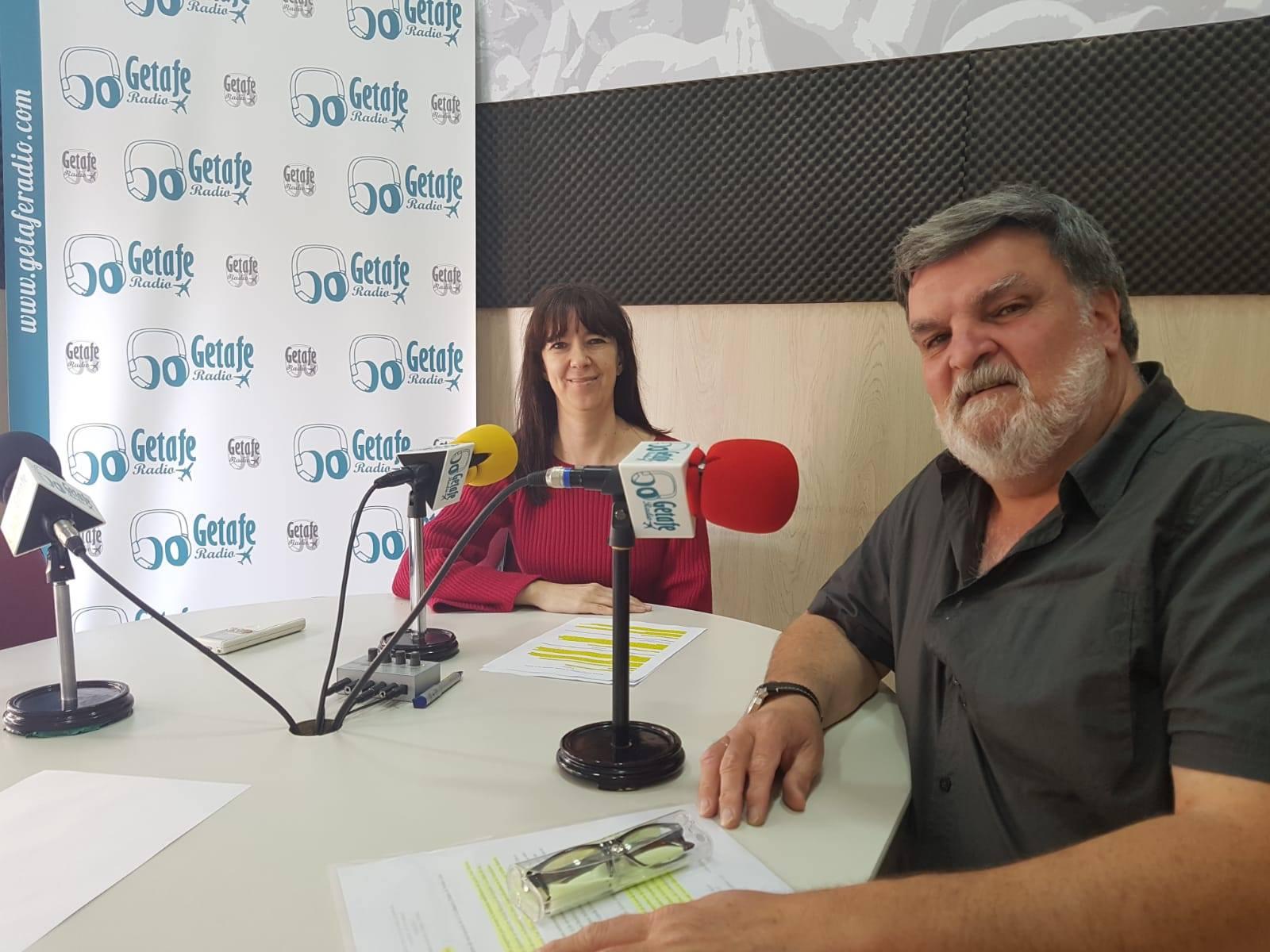 Foto en Getafe Radio