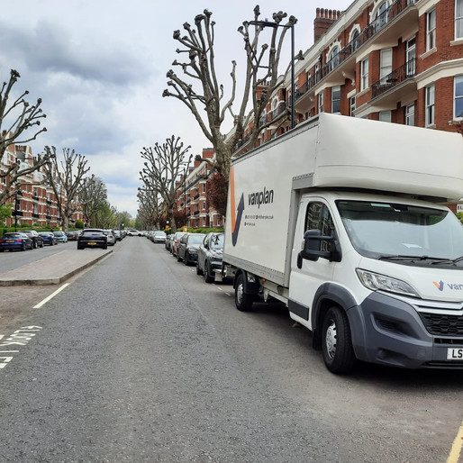 Our Vans are out and about today in the NW London area