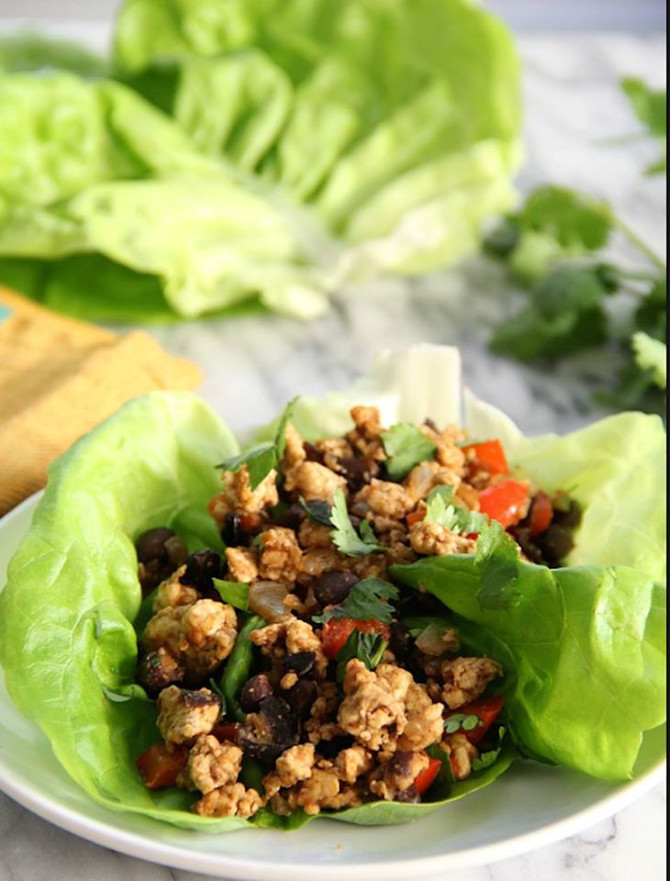Recipe: Chickpea Lettuce Wraps