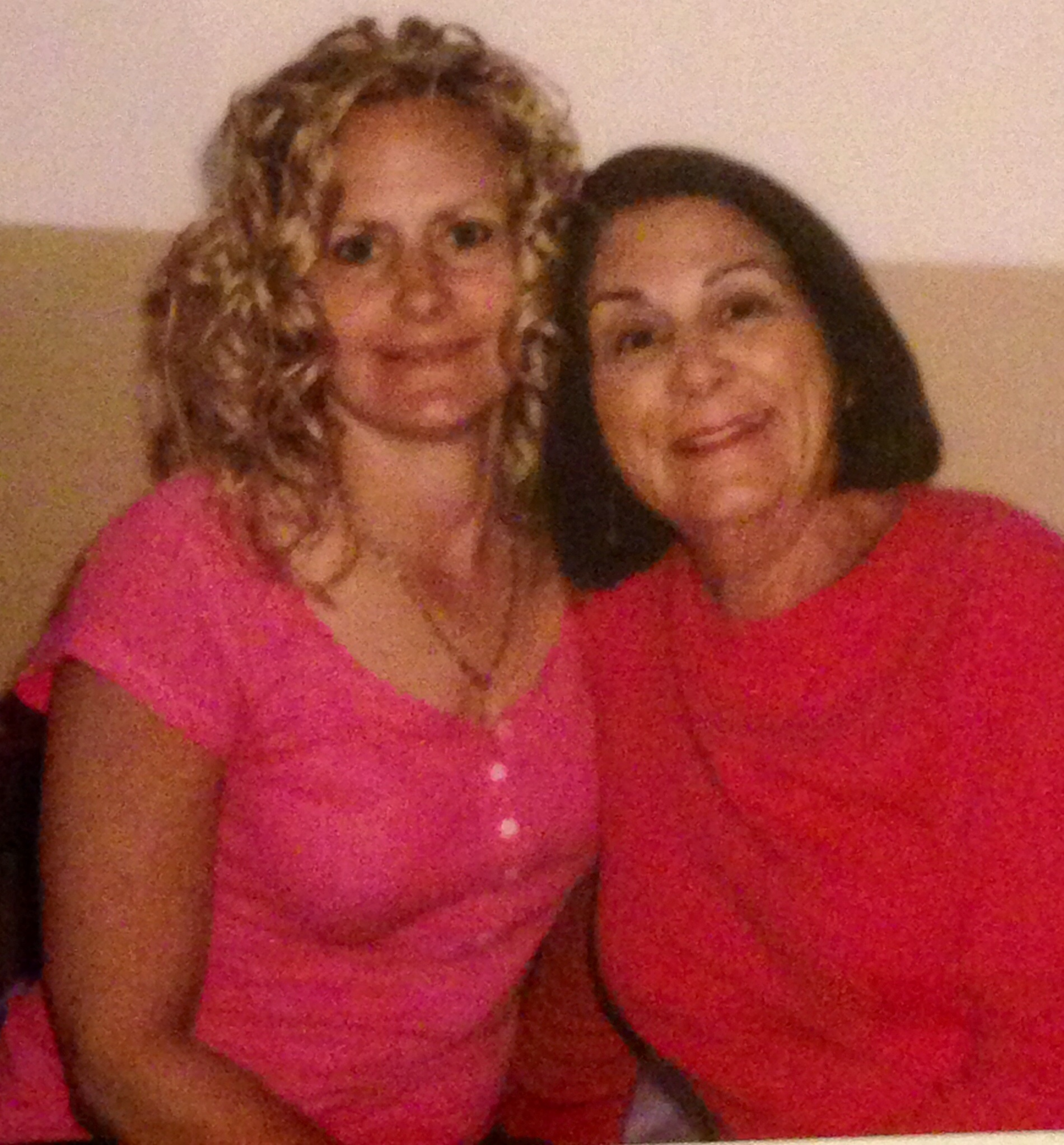 Pamela and her mom, Linda