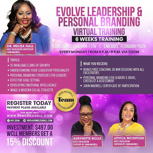 Evolve Leadership & Personal Branding Training