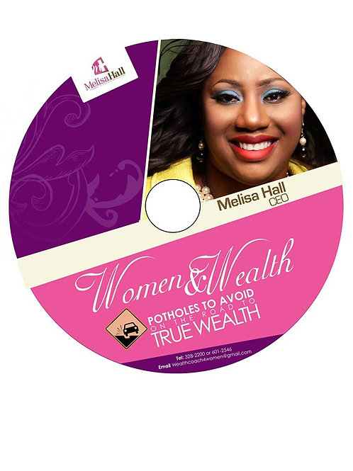 Women & Wealth Potholes to Avoid on the road to wealth