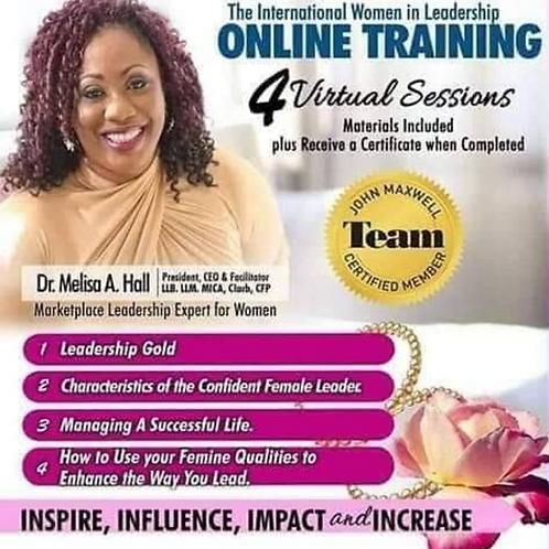 The International Women in Leadership Online Training