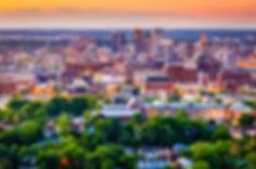 Birmingham, Alabama, USA downtown city s