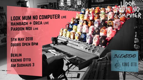 Look Mum No Computer LIVE